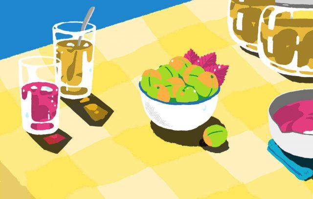 [ 父の終活と母の形見 ] Vol.1 忘れられない母の味 〜 梅ジュースとしそジュース〜